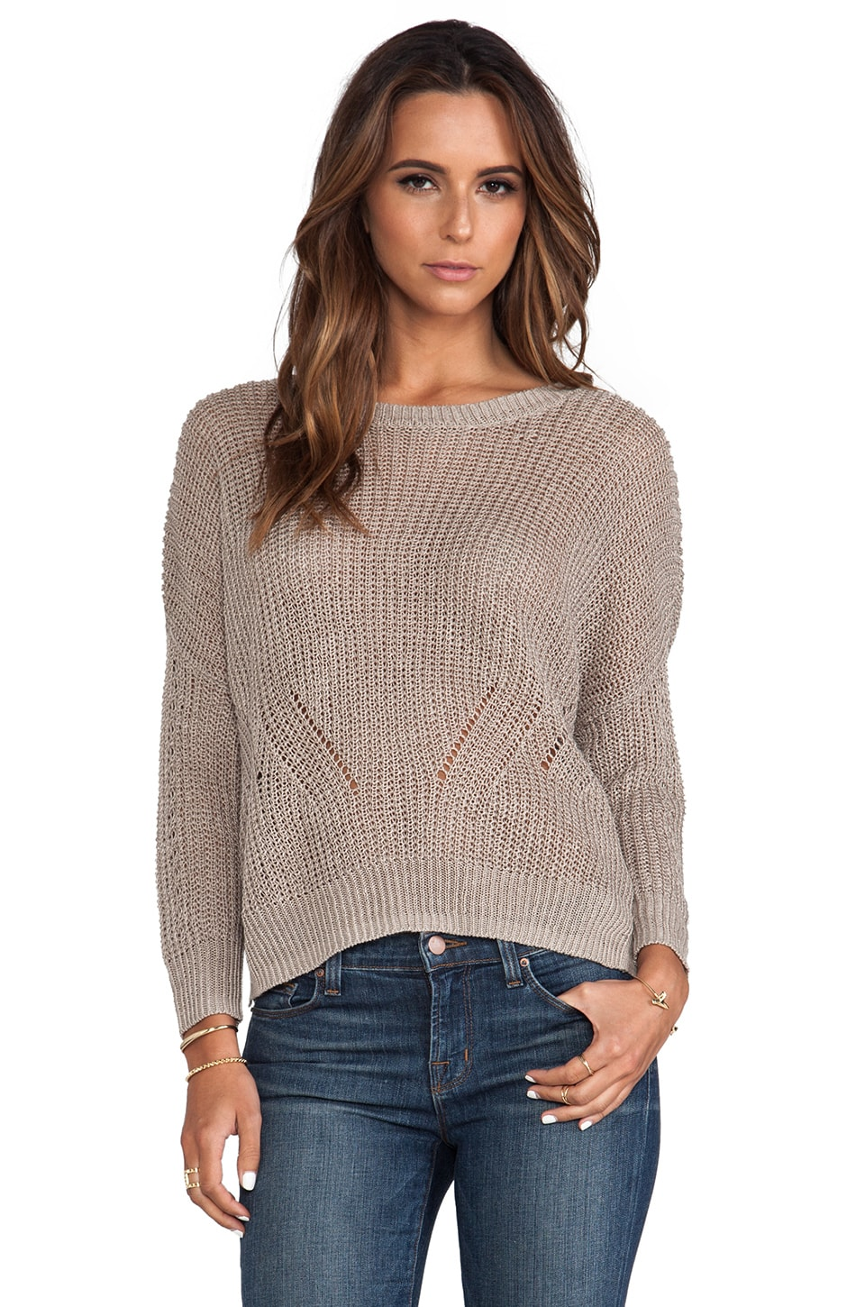 DemyLee Graham Sweater in Cement