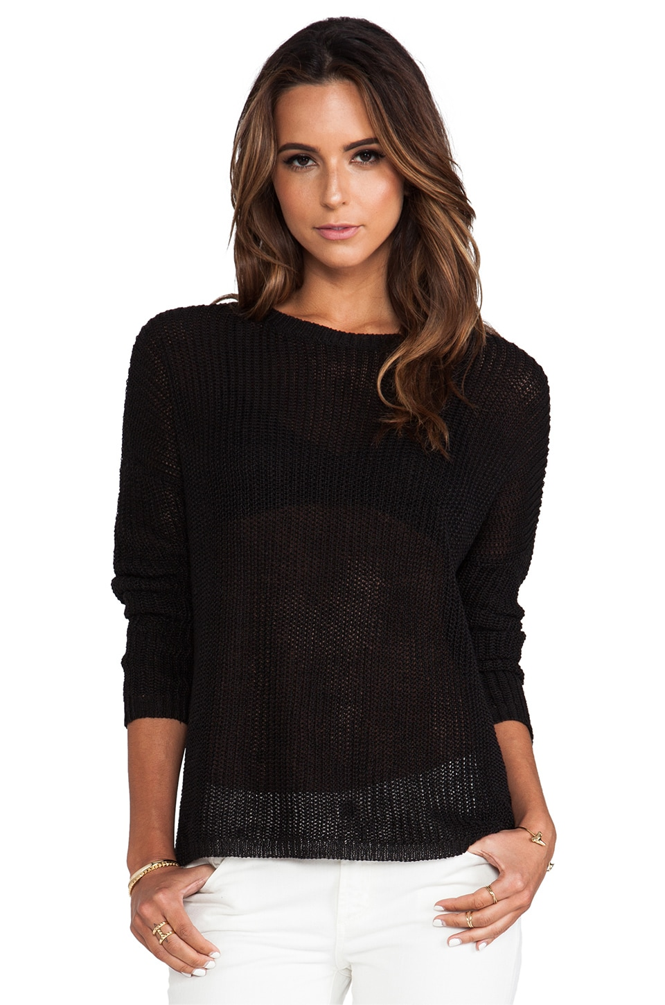 DemyLee Lila Sweater in Black