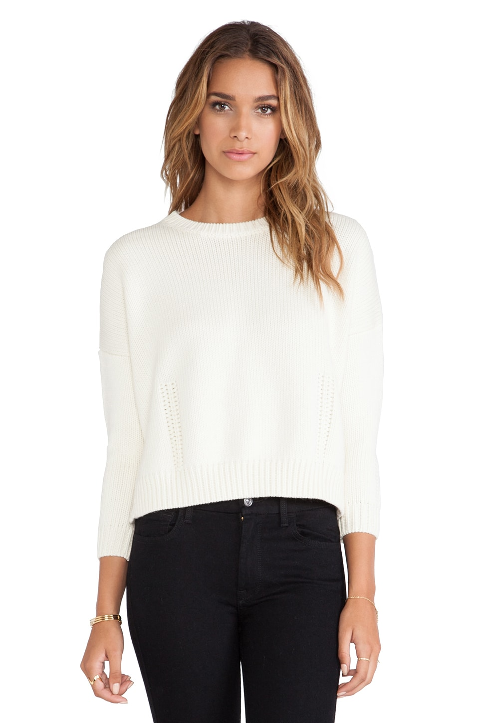 DemyLee Giselle Sweater in Cream