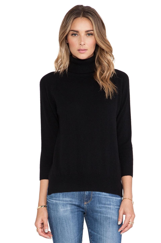 DemyLee Kaia Cashmere Sweater in Black
