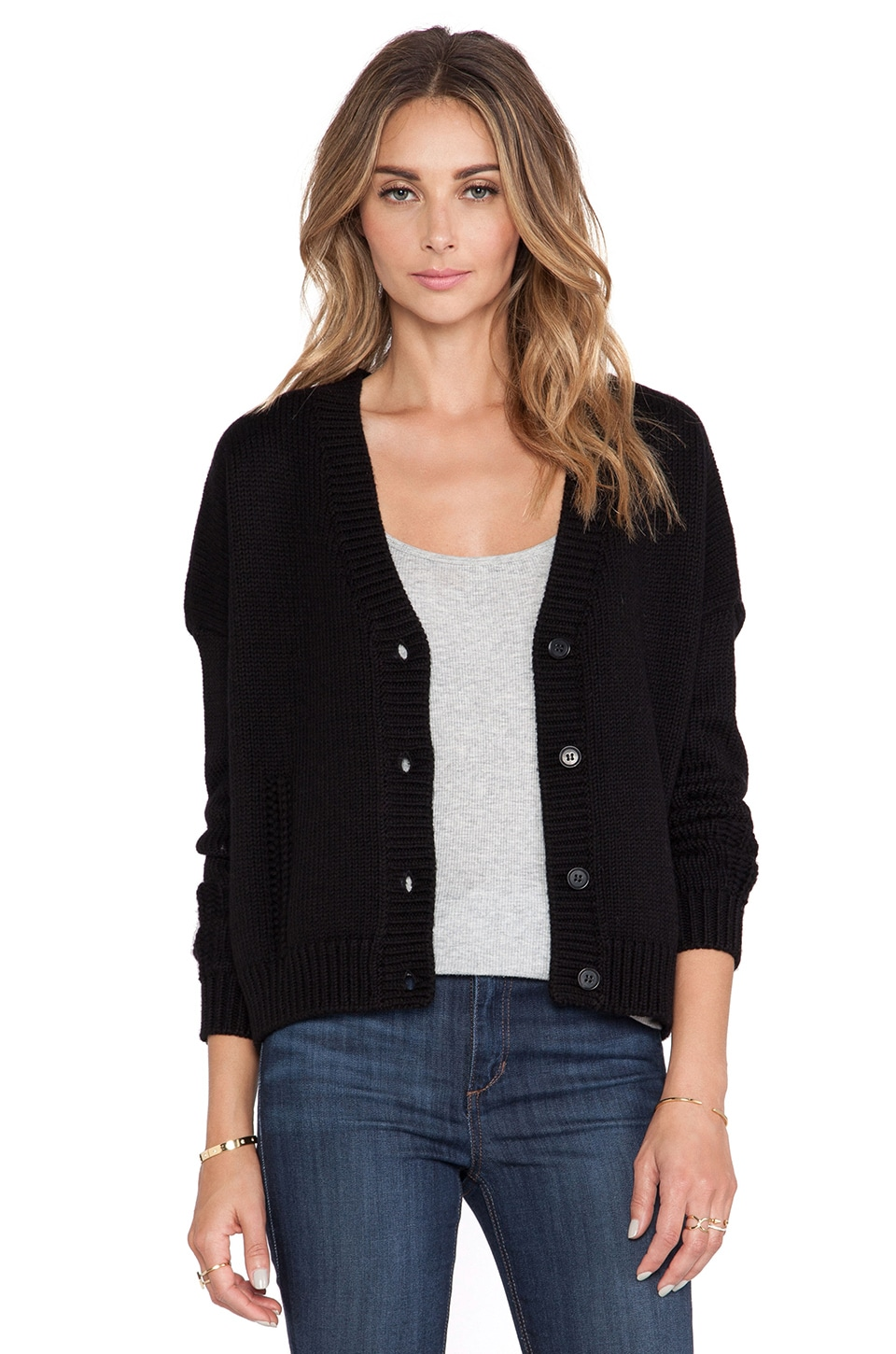 DemyLee Peyton Cardigan in Black
