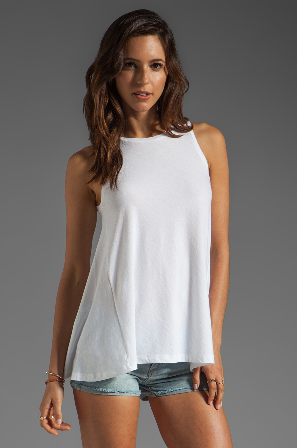 DemyLee Enya Tank in White