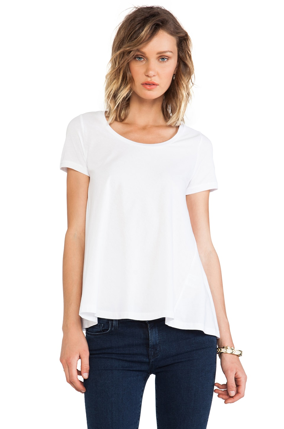 DemyLee Moss Tee in White