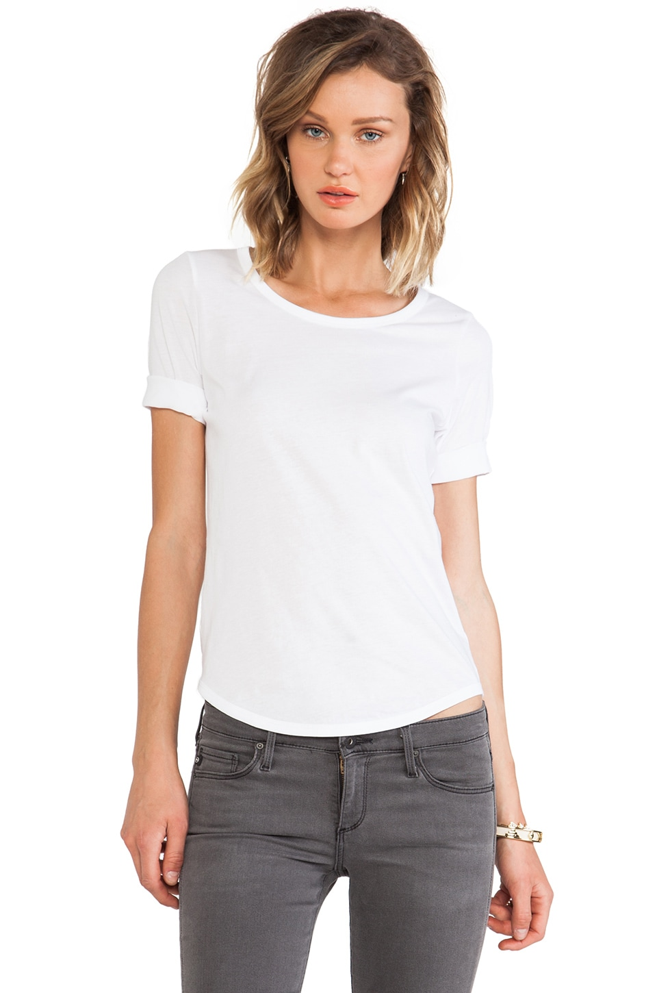 DemyLee Kate Tee in White