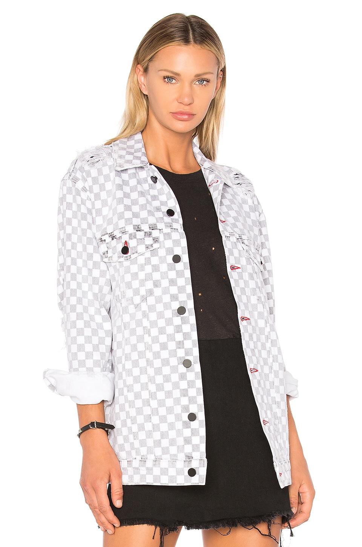 Daze Checkerboard Jacket by DENIM x ALEXANDER WANG