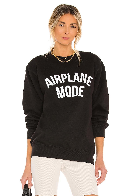 DEPARTURE Airplane Mode Sweatshirt in Black