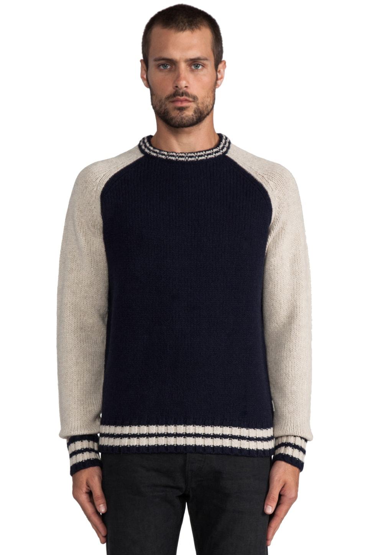 Deus Ex Machina Sam Sweater in Marine