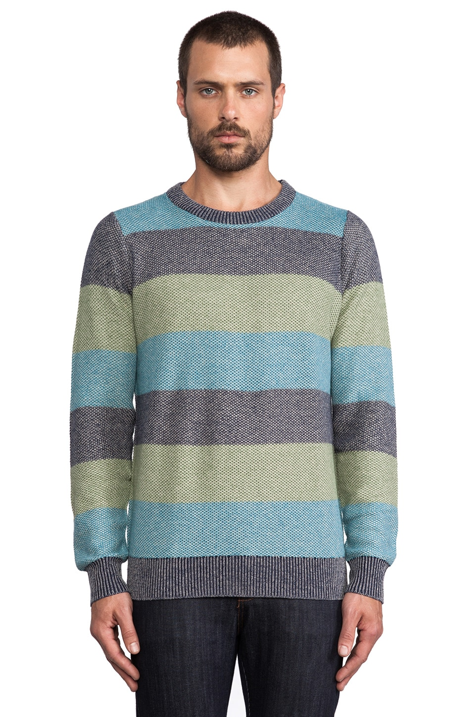 Deus Ex Machina Pablo Sweater in Navy