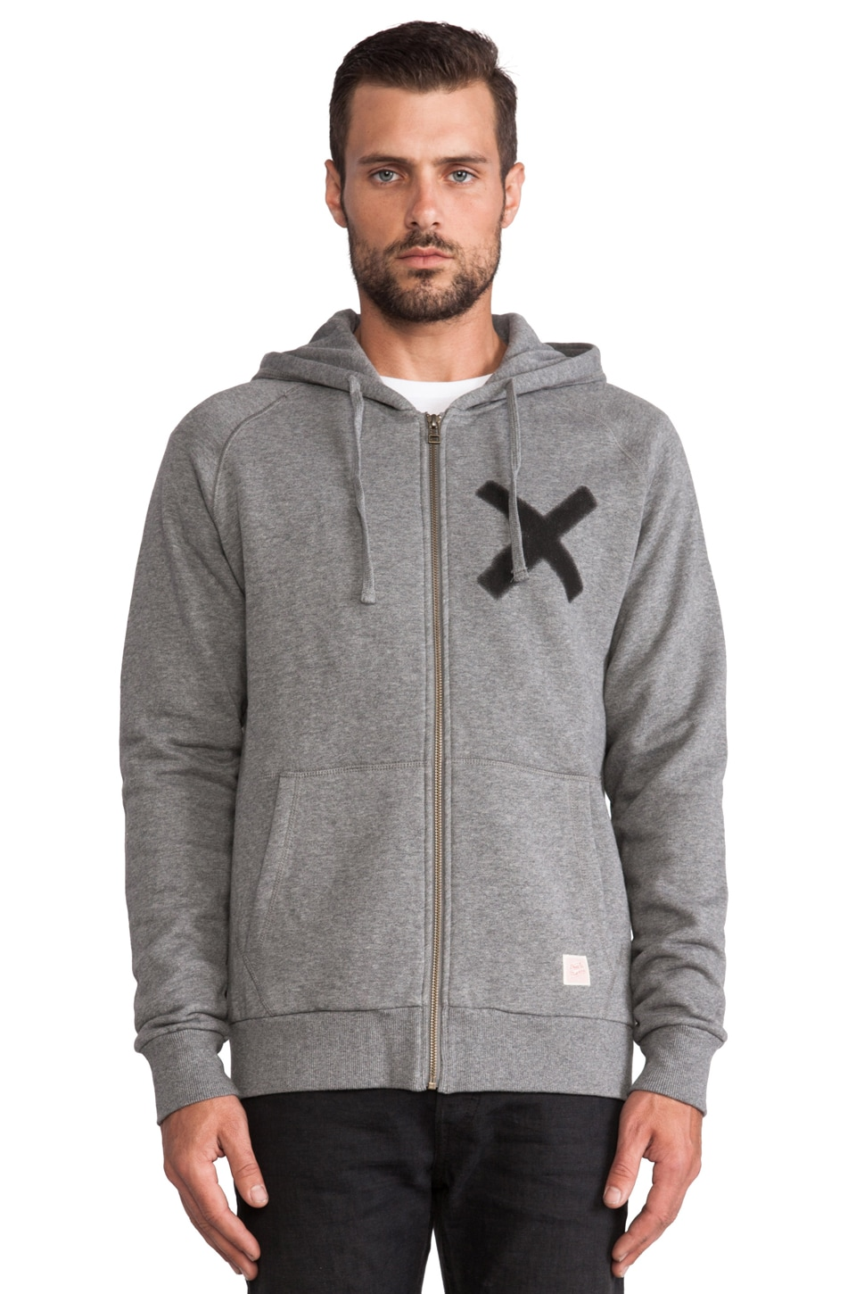 Deus Ex Machina The X Hoodie in Smoke