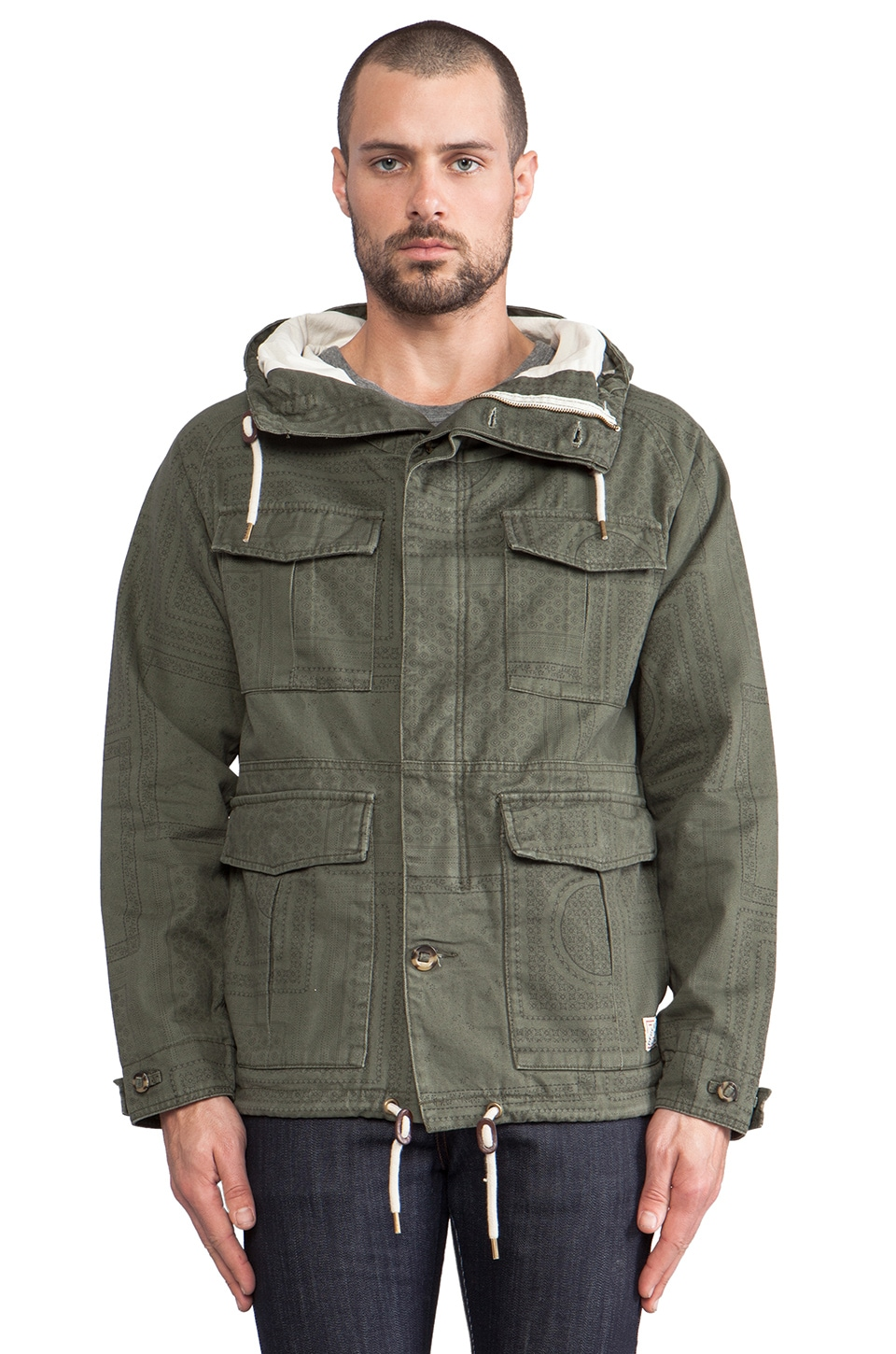 Deus Ex Machina Gordon Jacket in Olive