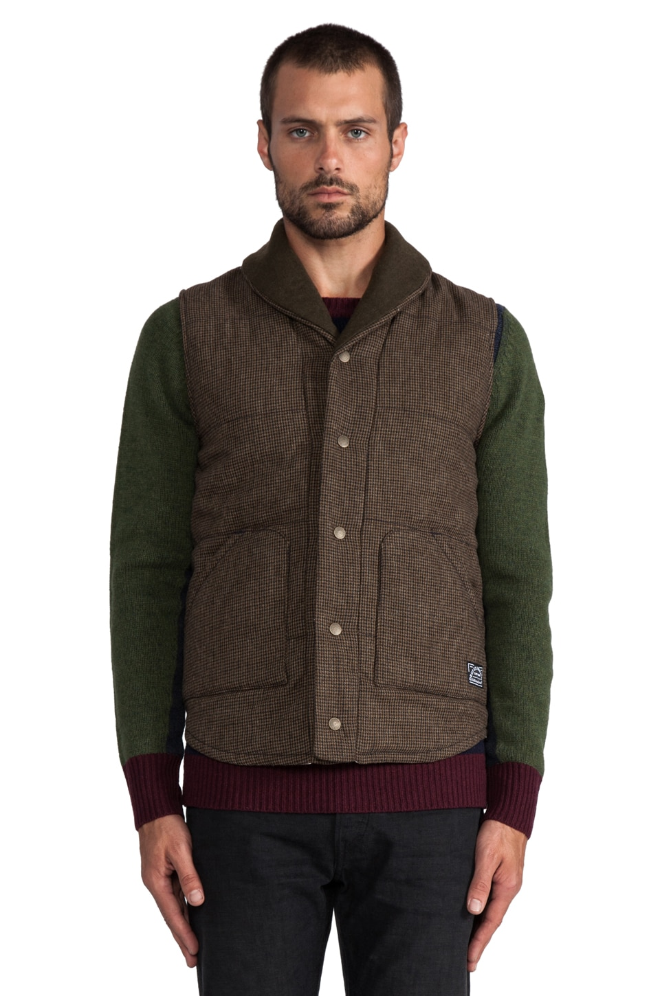 Deus Ex Machina Doyle Vest en Tarmac Check