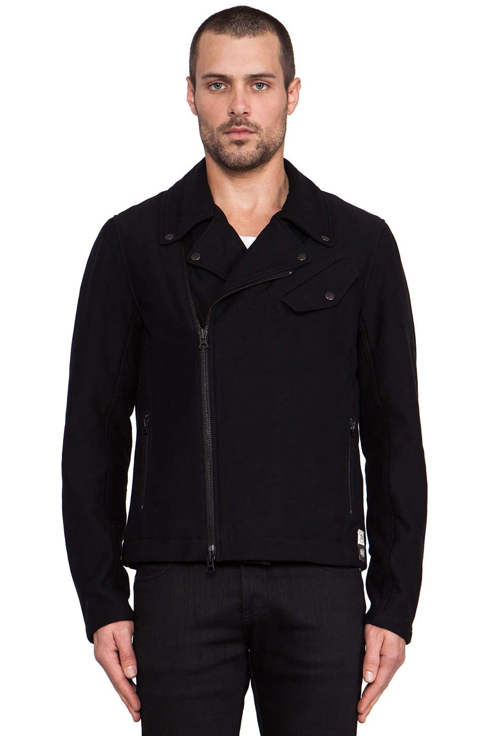 Deus Ex Machina x Reigning Champ Rider Jacket in Black