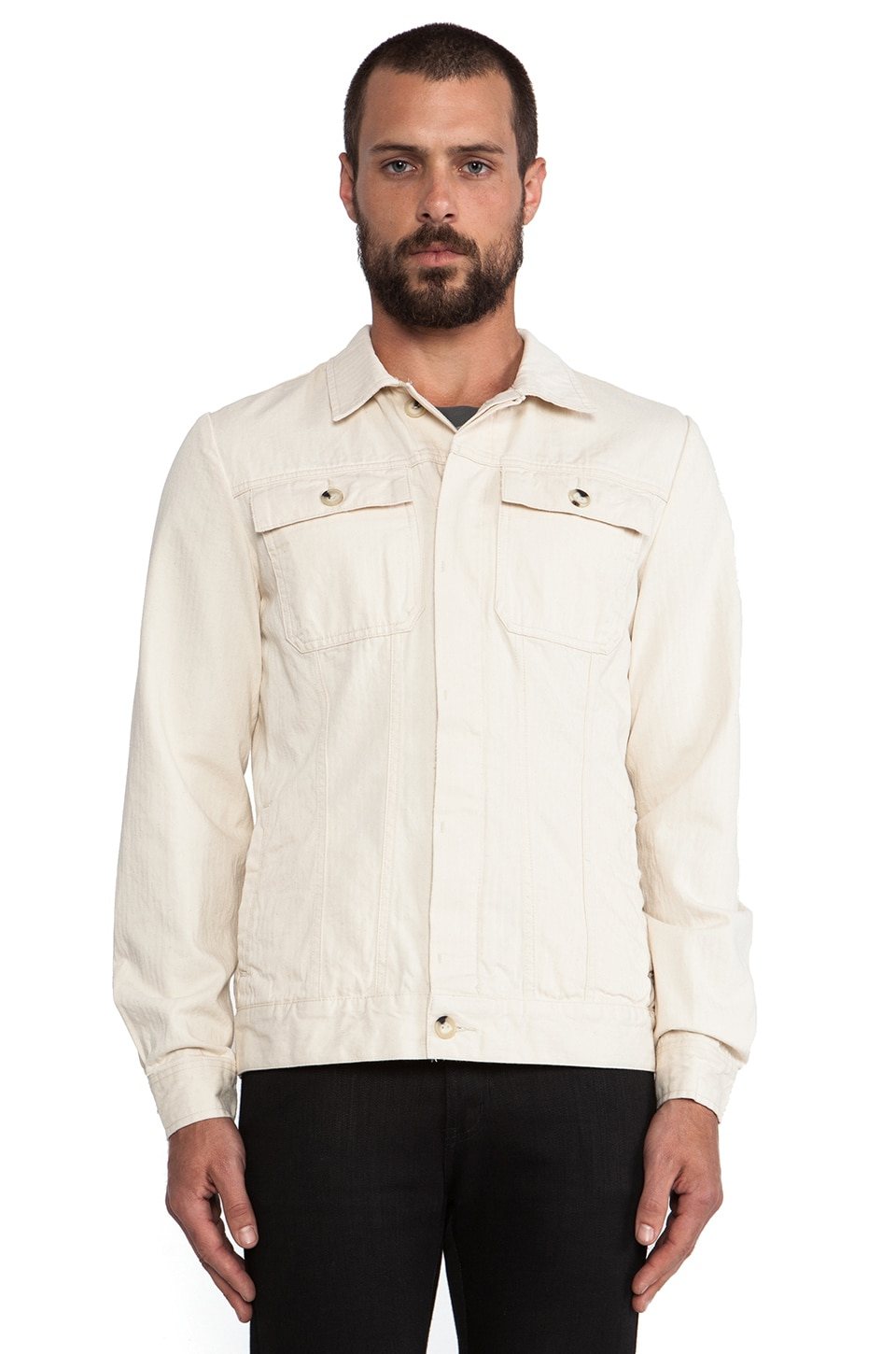 Deus Ex Machina Egan Jacket in Natural