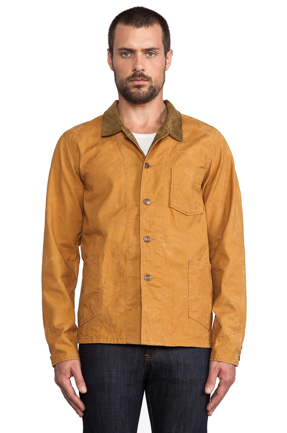 Deus Ex Machina Chip Jacket in Ochre