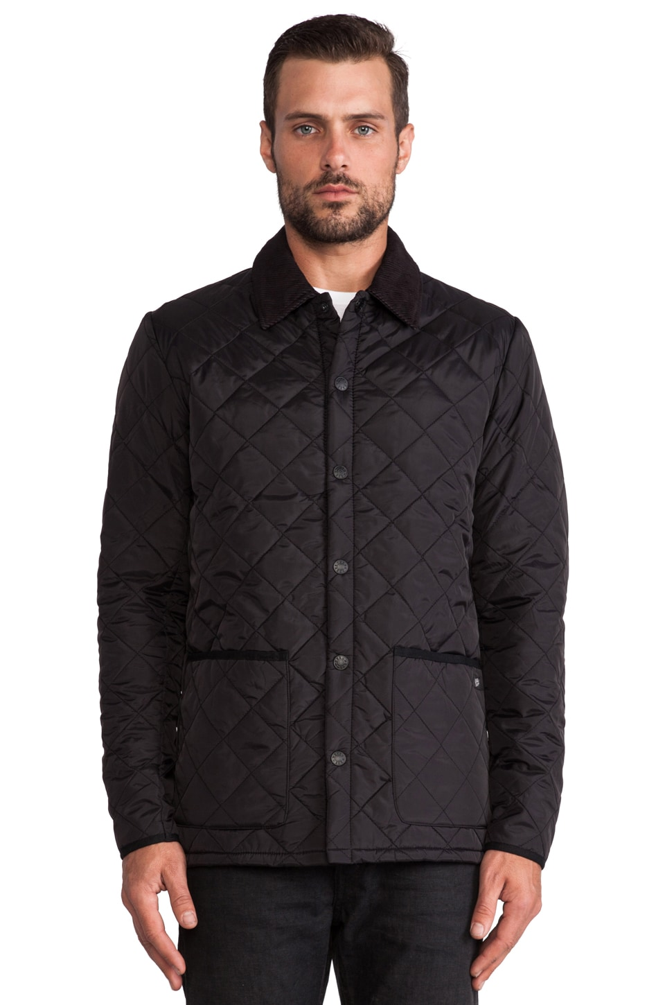 Deus Ex Machina Seville Jacket in Black