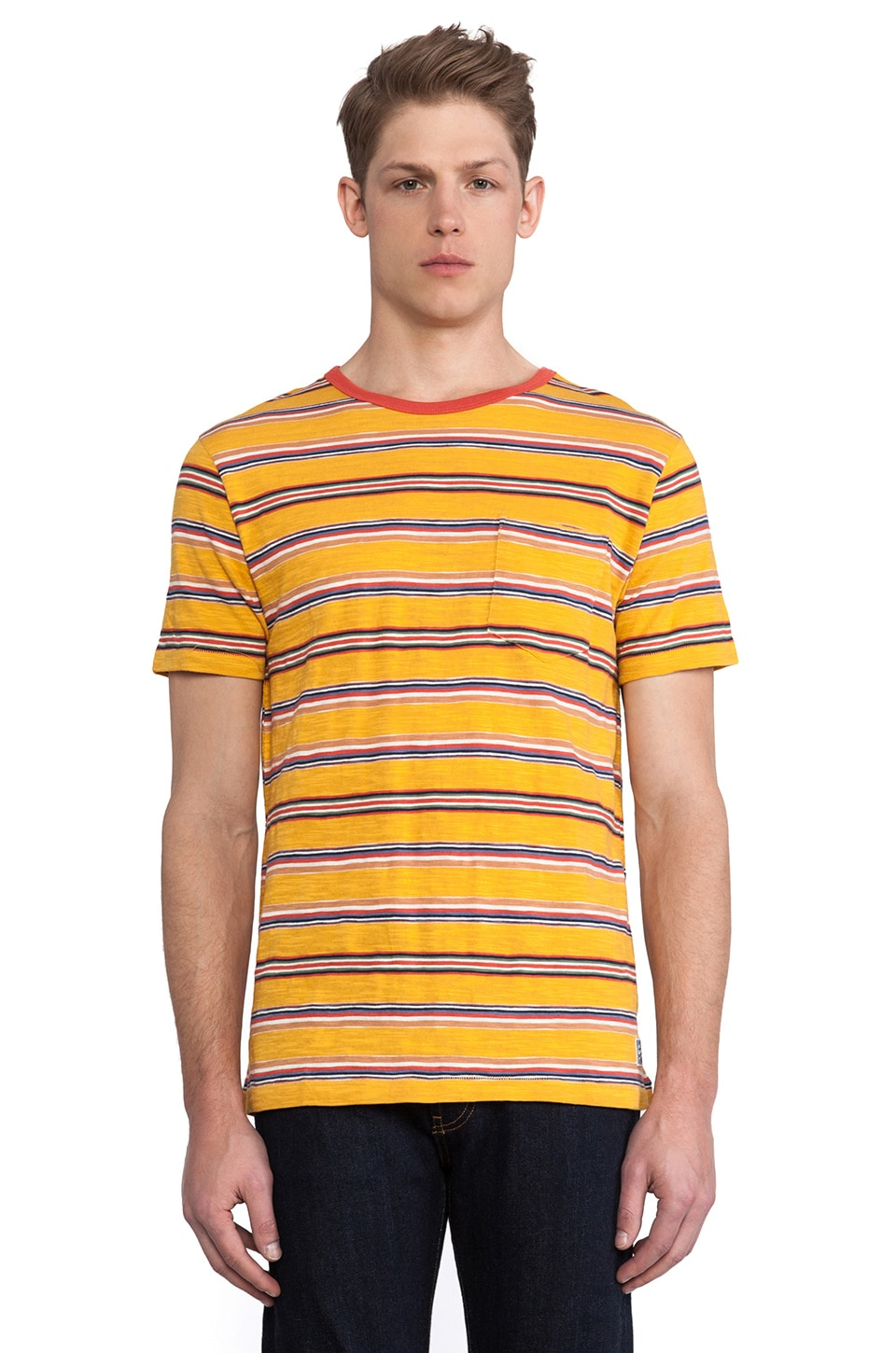 Deus Ex Machina Mewson Tee in Beeswax