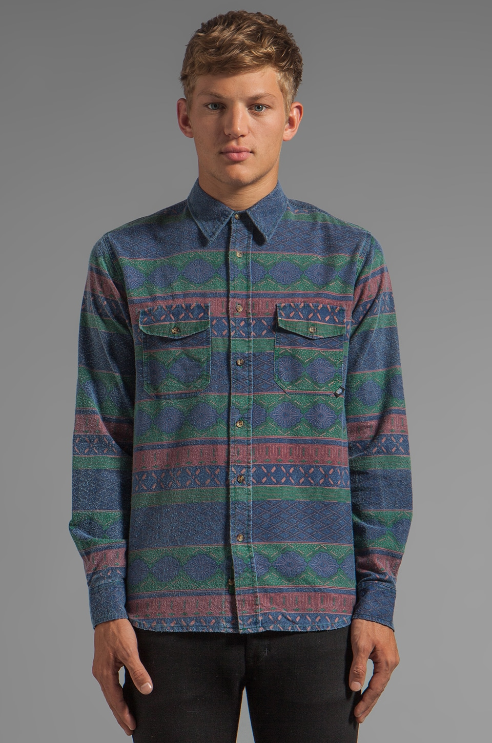 Deus Ex Machina Flanny Shirt in Jungle
