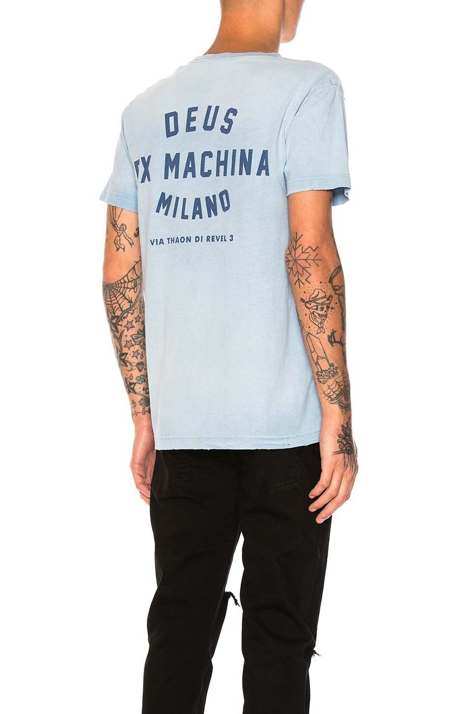 Sunbleached Milan Tee by Deus Ex Machina