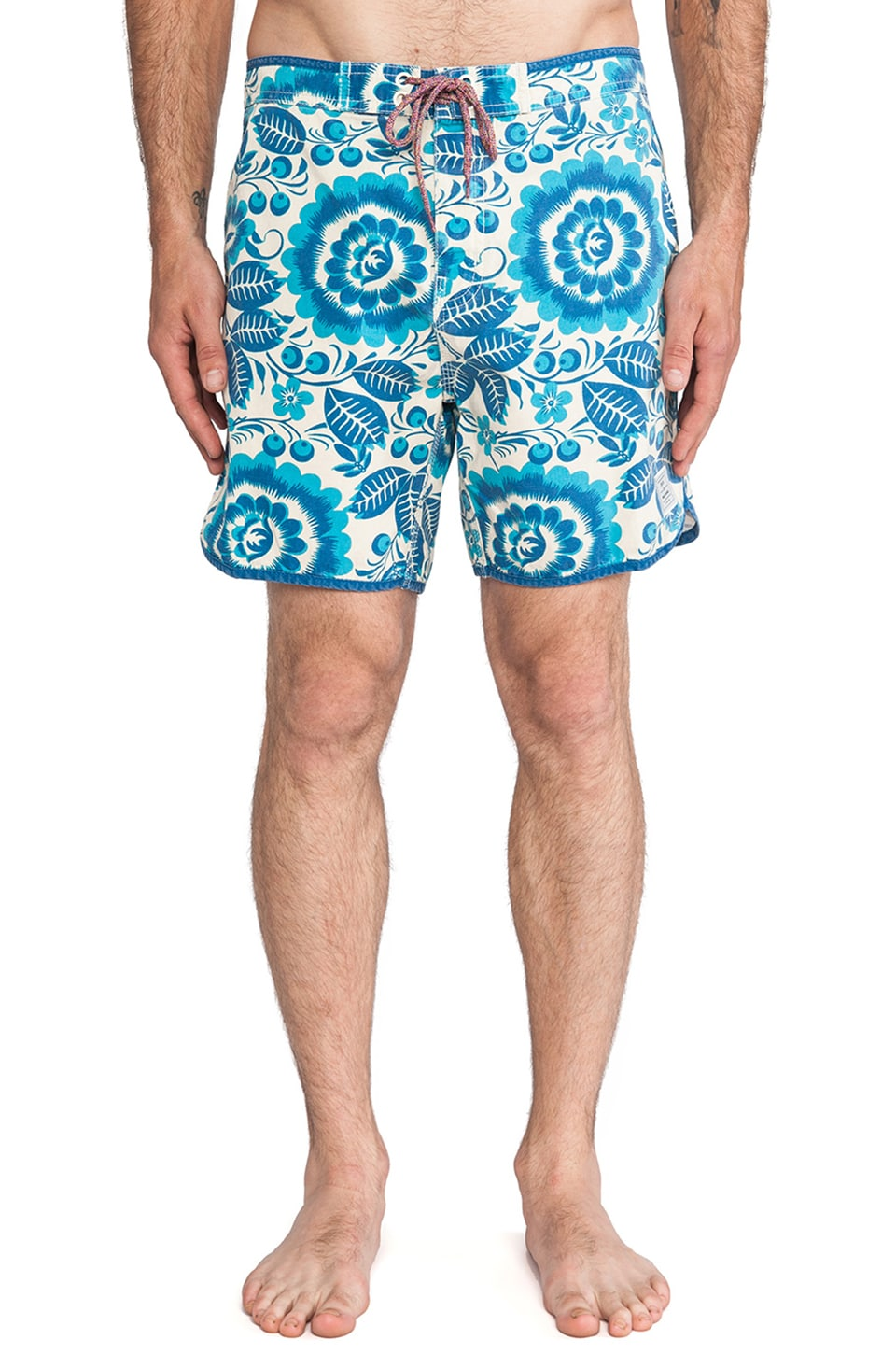 Deus Ex Machina Berawa Nana Boardshort in Blue