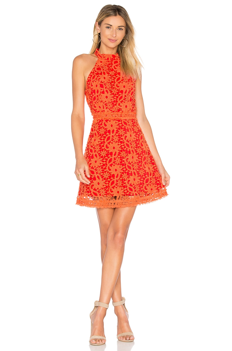 devlin Maryanne Dress in Tangerine