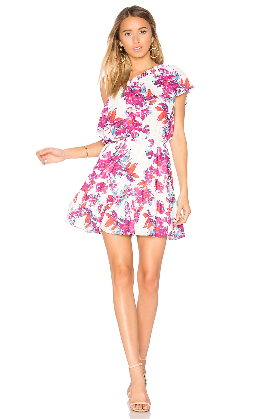 devlin Thea Dress in Watercolor Flowers
