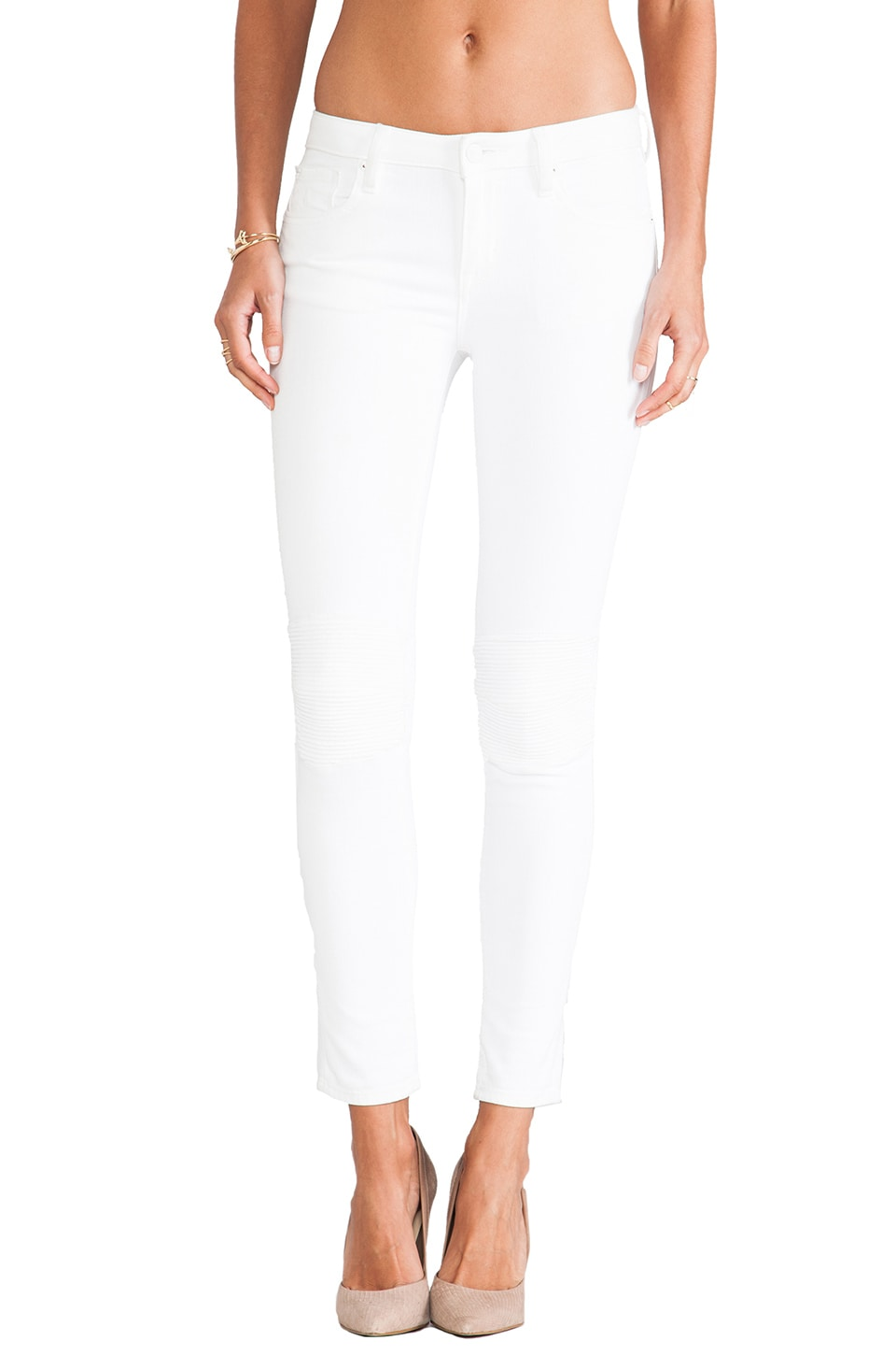 D-ID Cycle Skinny in White