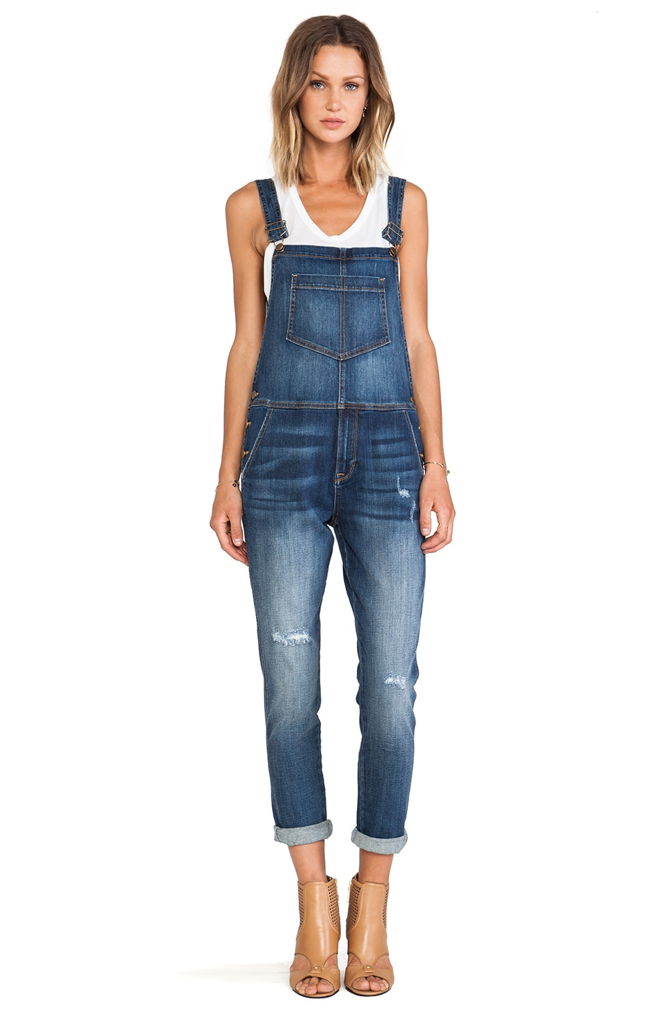 D-ID Garage Jean Overalls in  Destroy