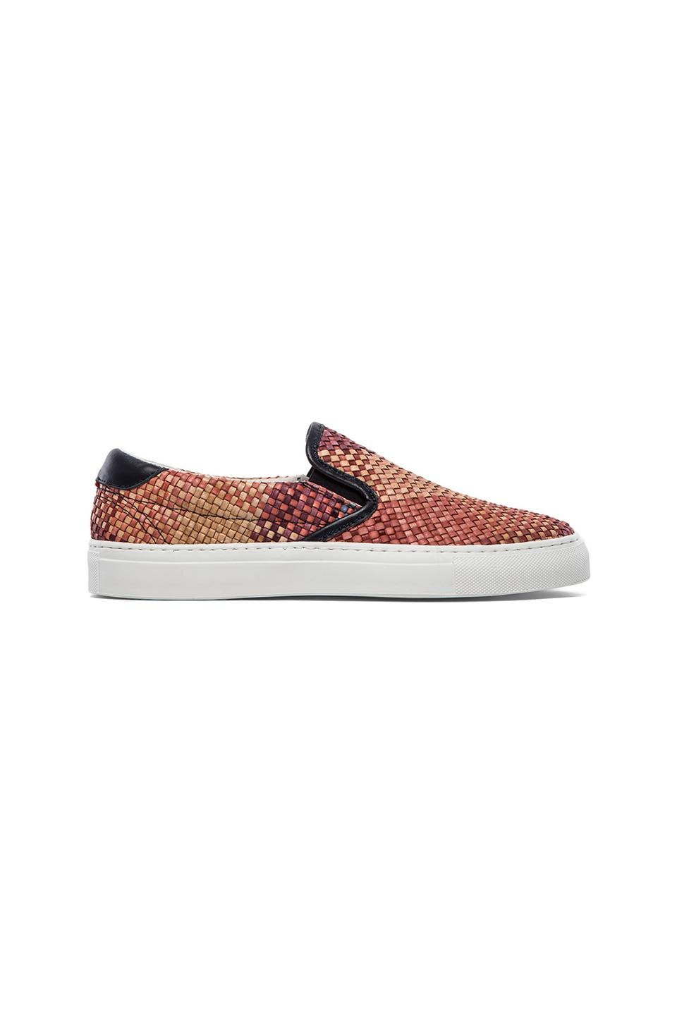 Diemme Garda Woven Leather Slip On in Alisea