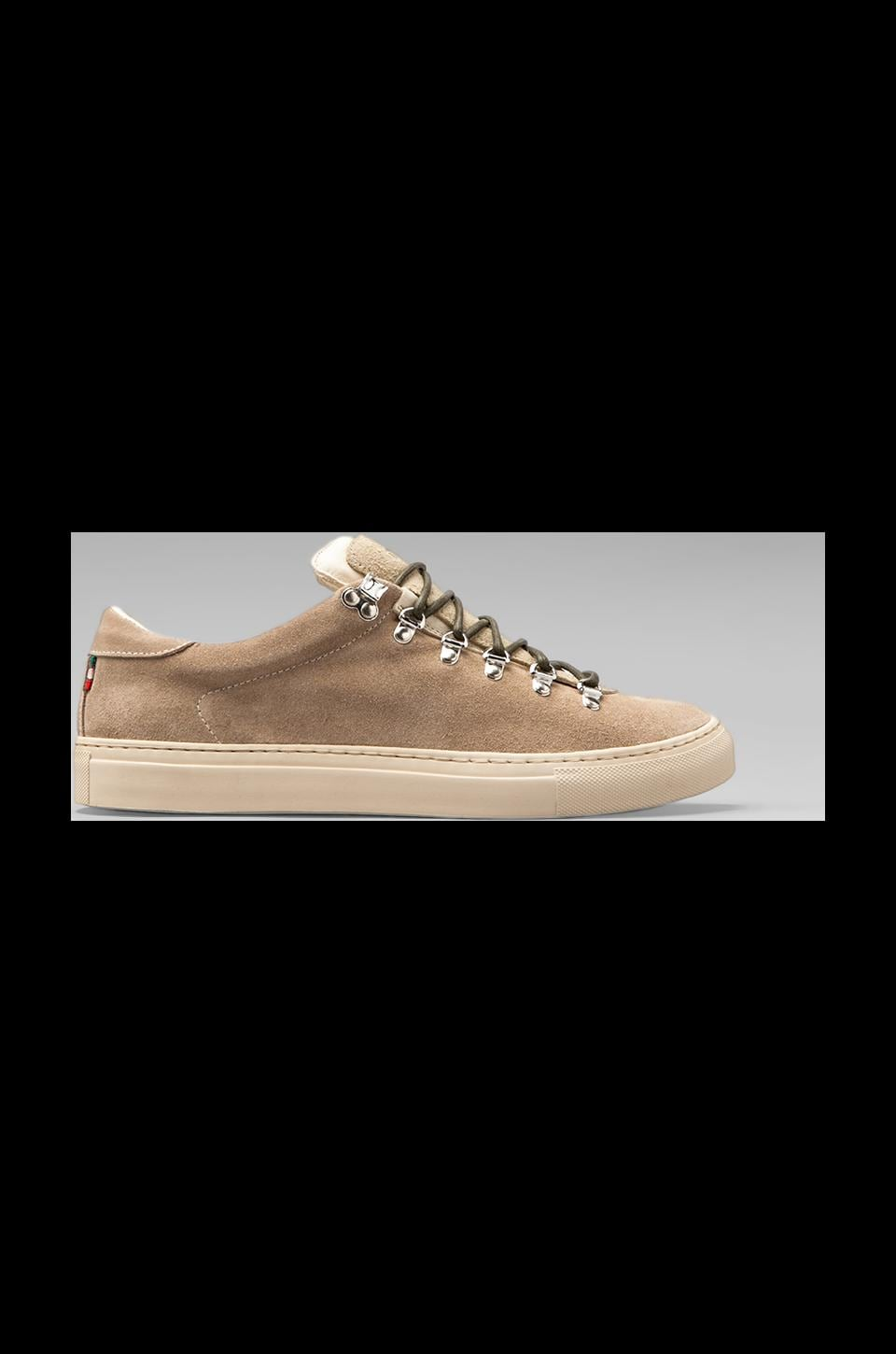 Diemme Marostica Low Sneaker in Mouton