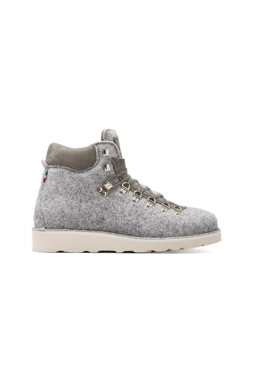 Diemme Roccia Vet Tweed Boot in Light Grey