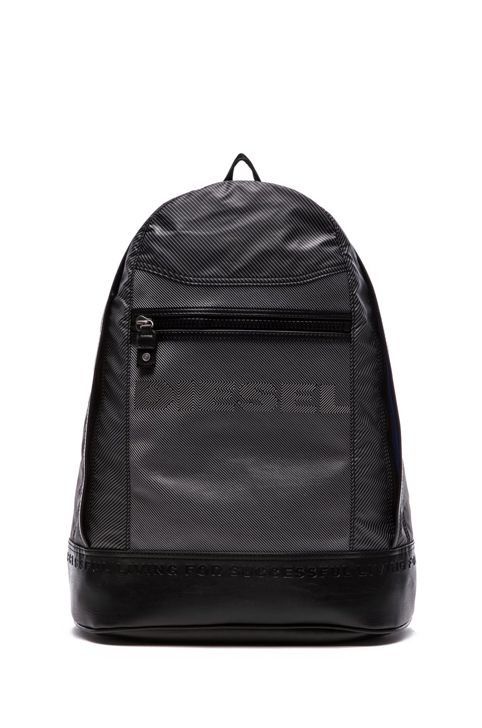 Diesel Illusion on the Road New Ride Backpack in Dark Grey Optical