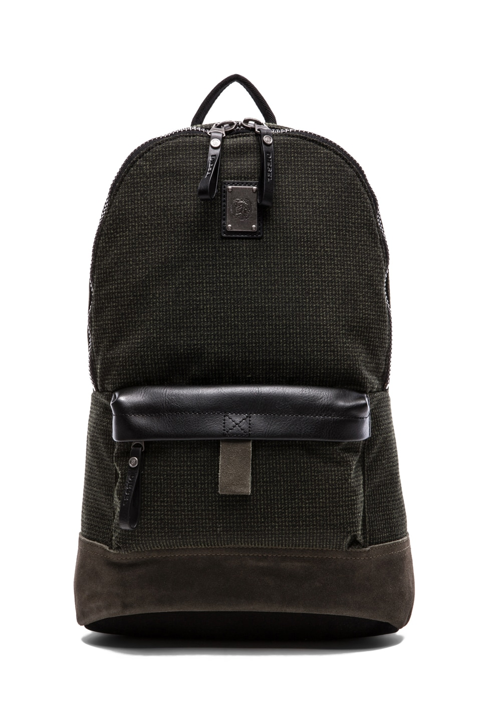 Diesel Hike City Hike-Clubber Backpack in Black