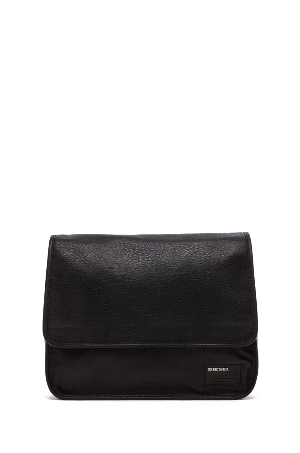 Diesel City to the Core City Flap Messenger in Black