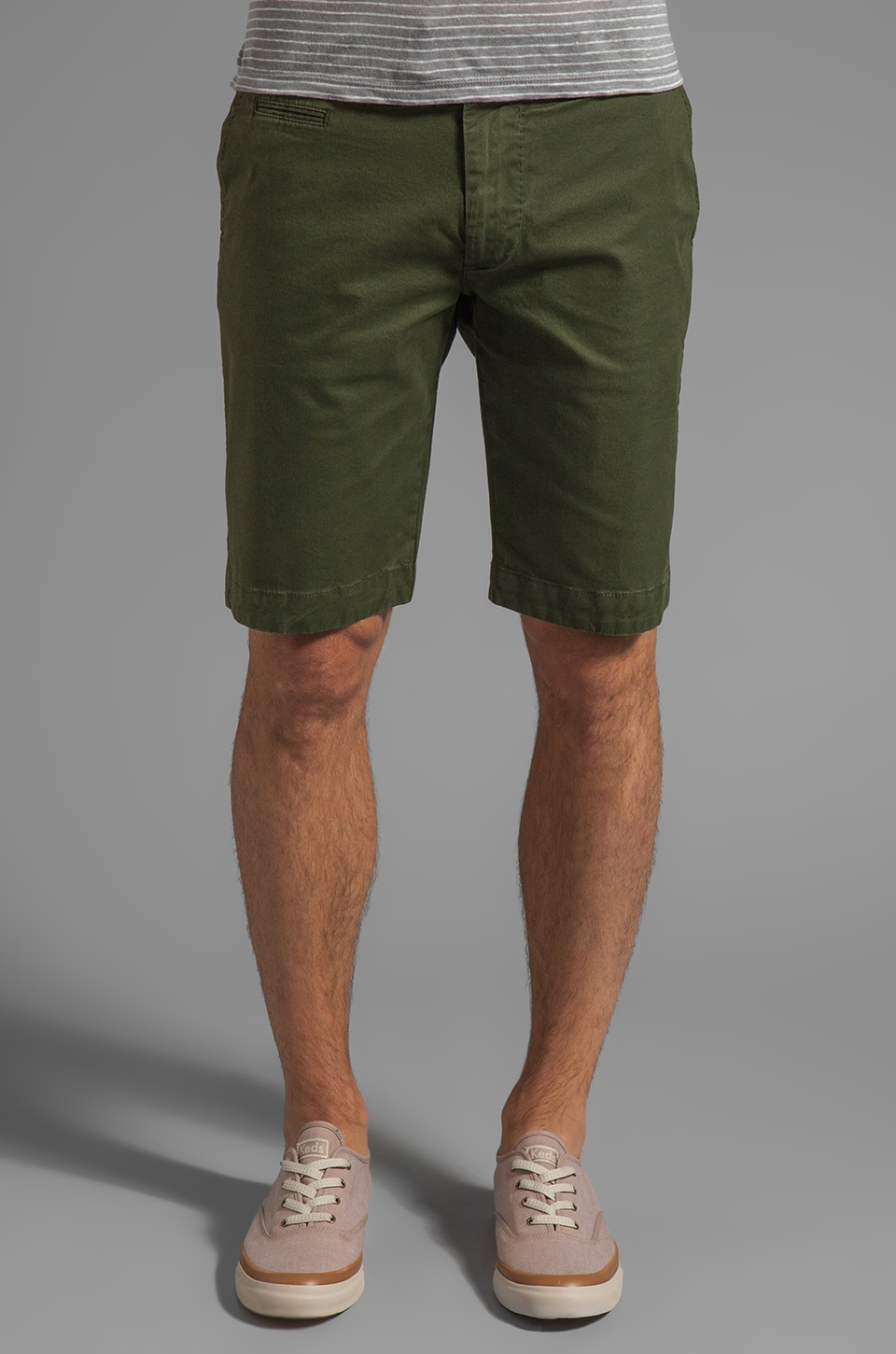 Diesel Chi-Tight Short in Green/ Jungle