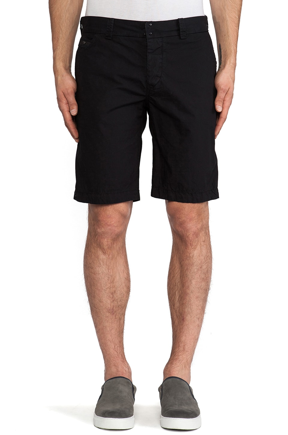 Diesel Chi-Regs Short in Black