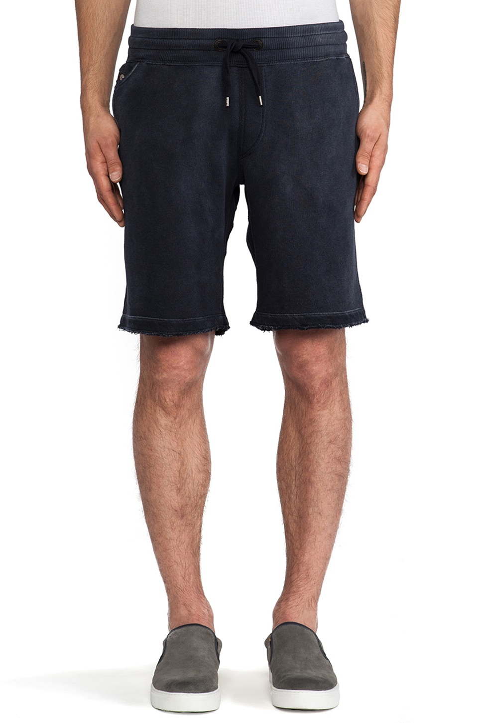 Diesel Pascale Sweatshort in Navy