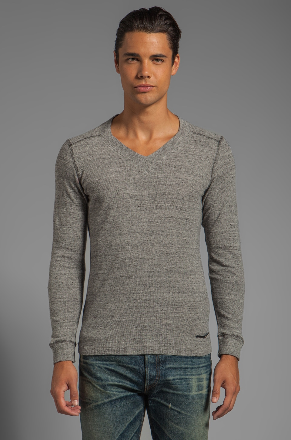 Diesel Ise Sweater in Melange Dark