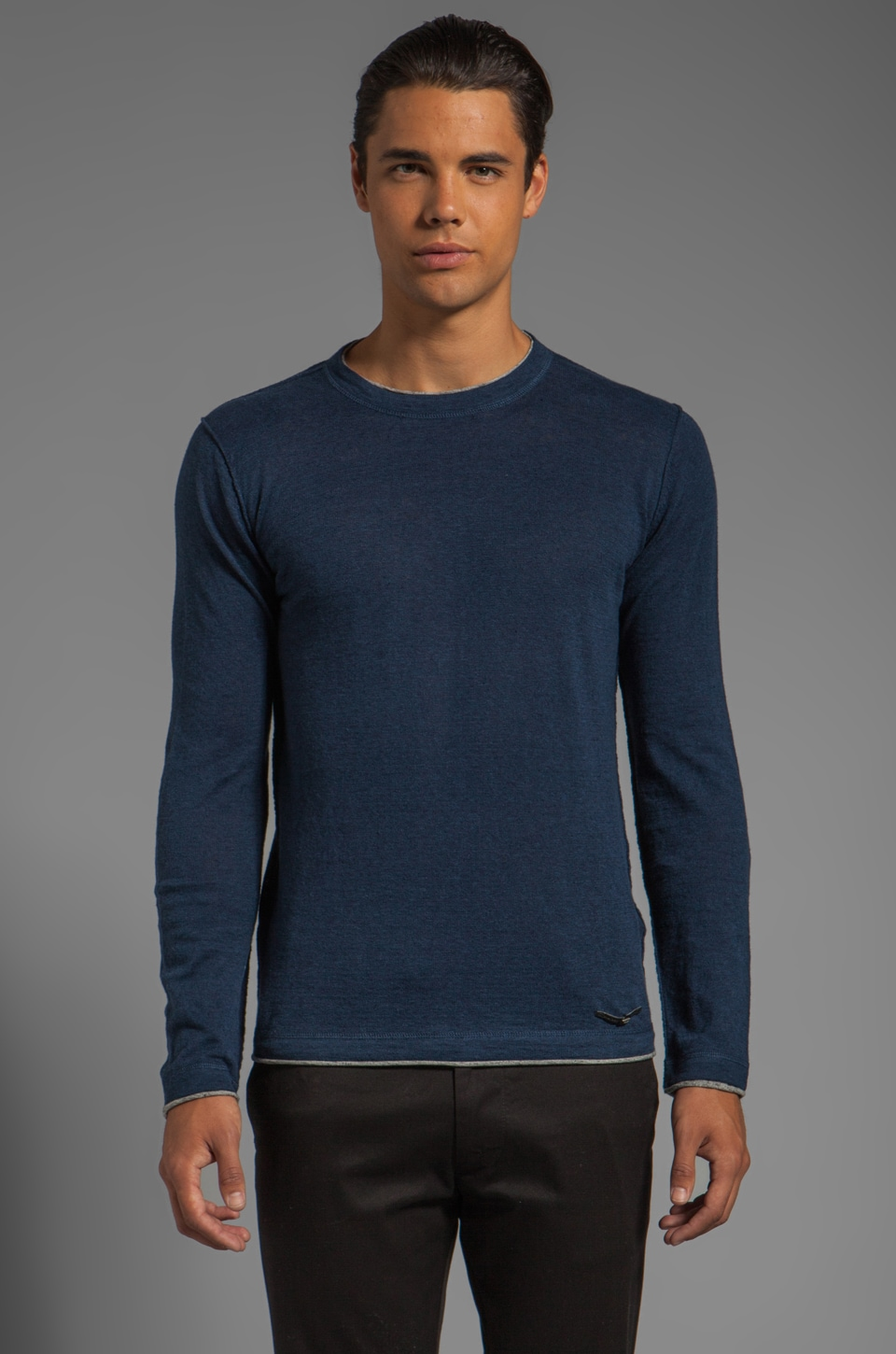 Diesel Ascepio Sweater in Midnight