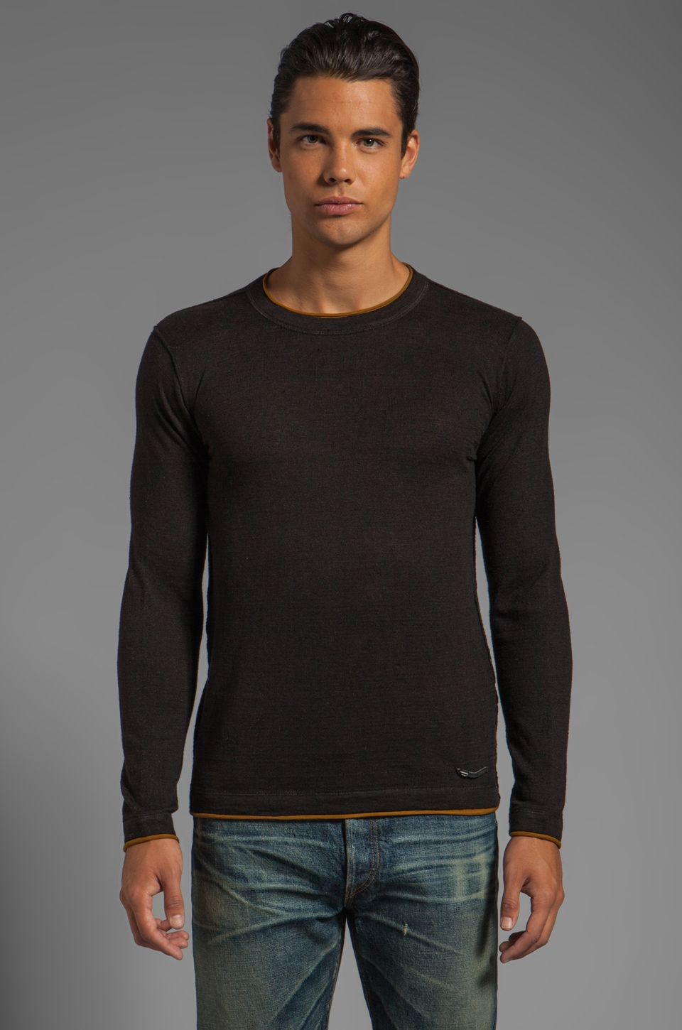 Diesel Ascepio Sweater in Black