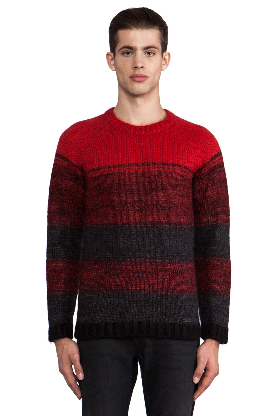Diesel Tengu Sweater in Berry