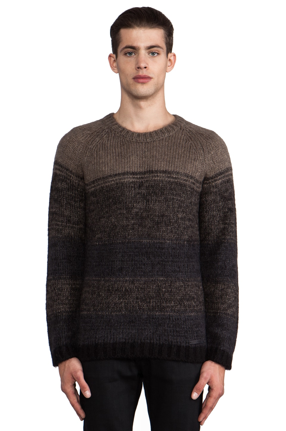 Diesel Tengu Sweater in Light Grey