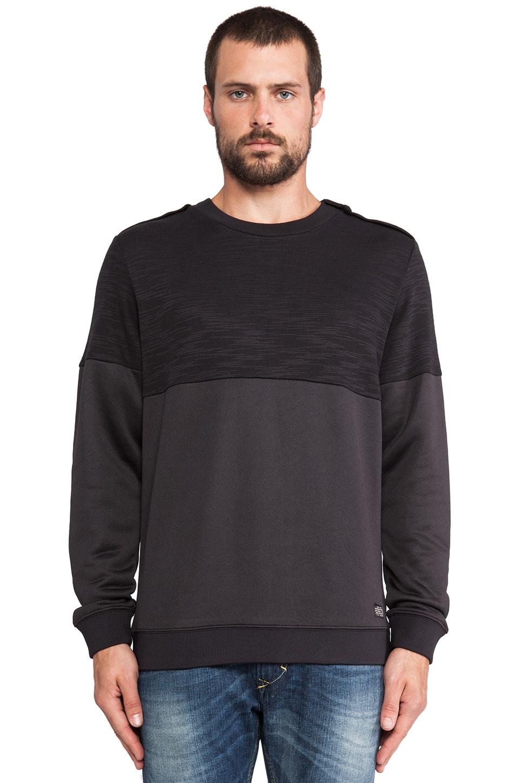 Diesel Huckel Pullover Sweater in Black
