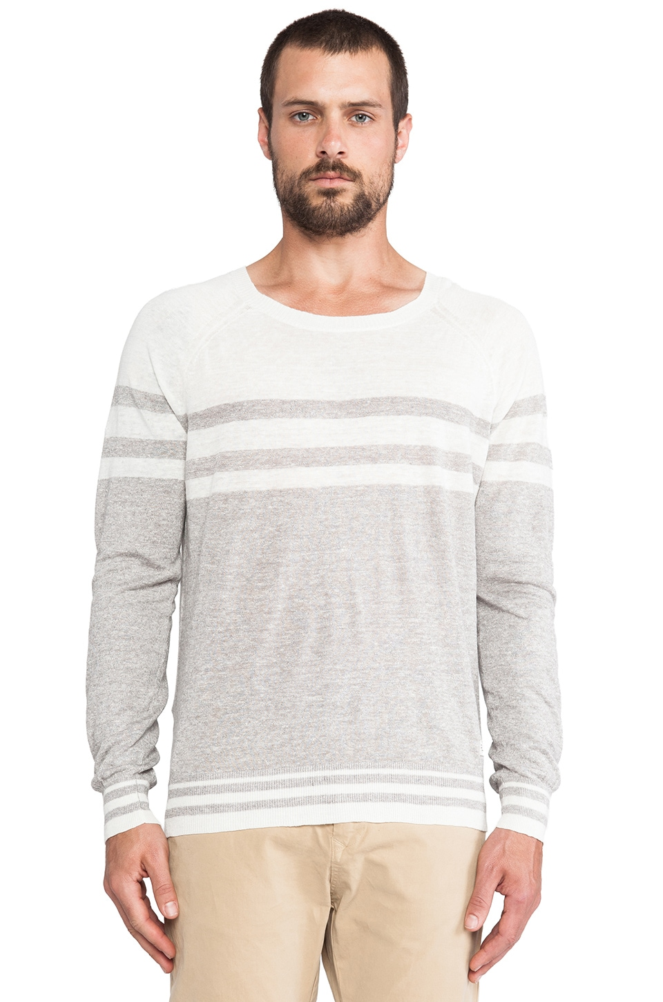 Diesel Bharati Sweater in Off White