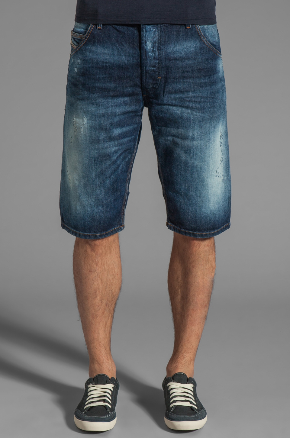 Diesel Kroshort Denim Short