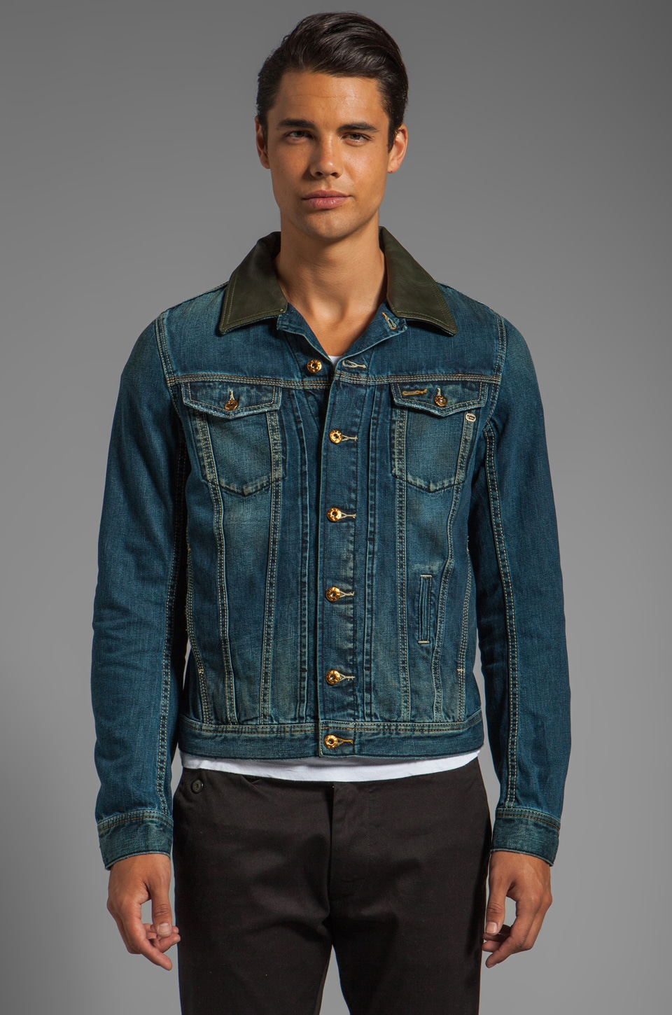 Diesel Elshar Jacket in Denim