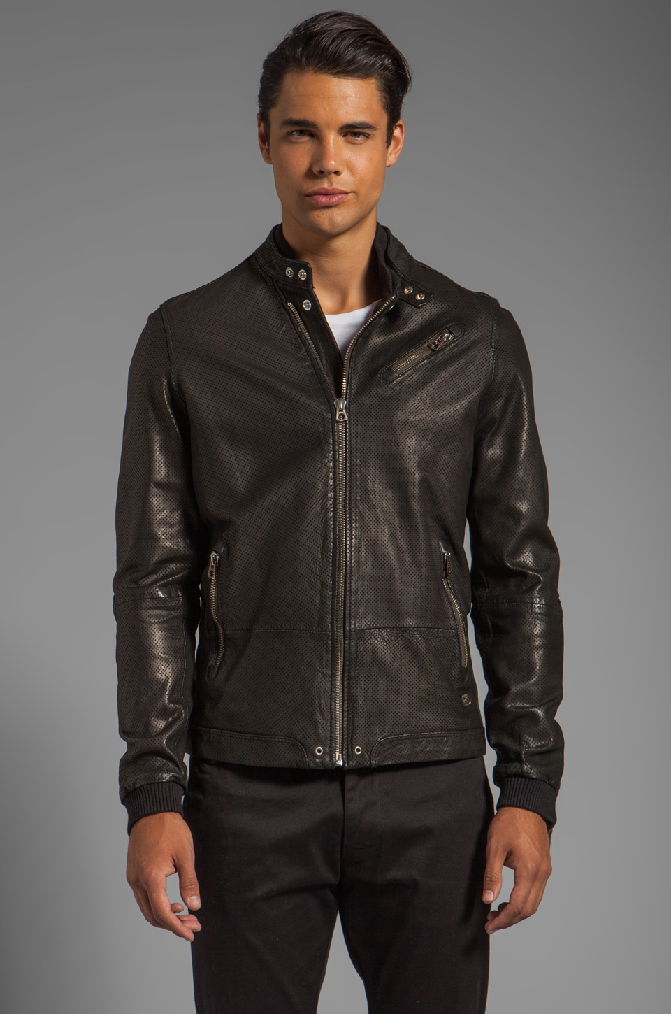 Diesel Lohar Jacket in Black