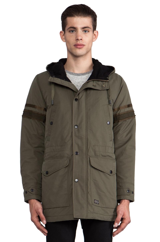Diesel Eranthe Military Jacket in Dark Olive