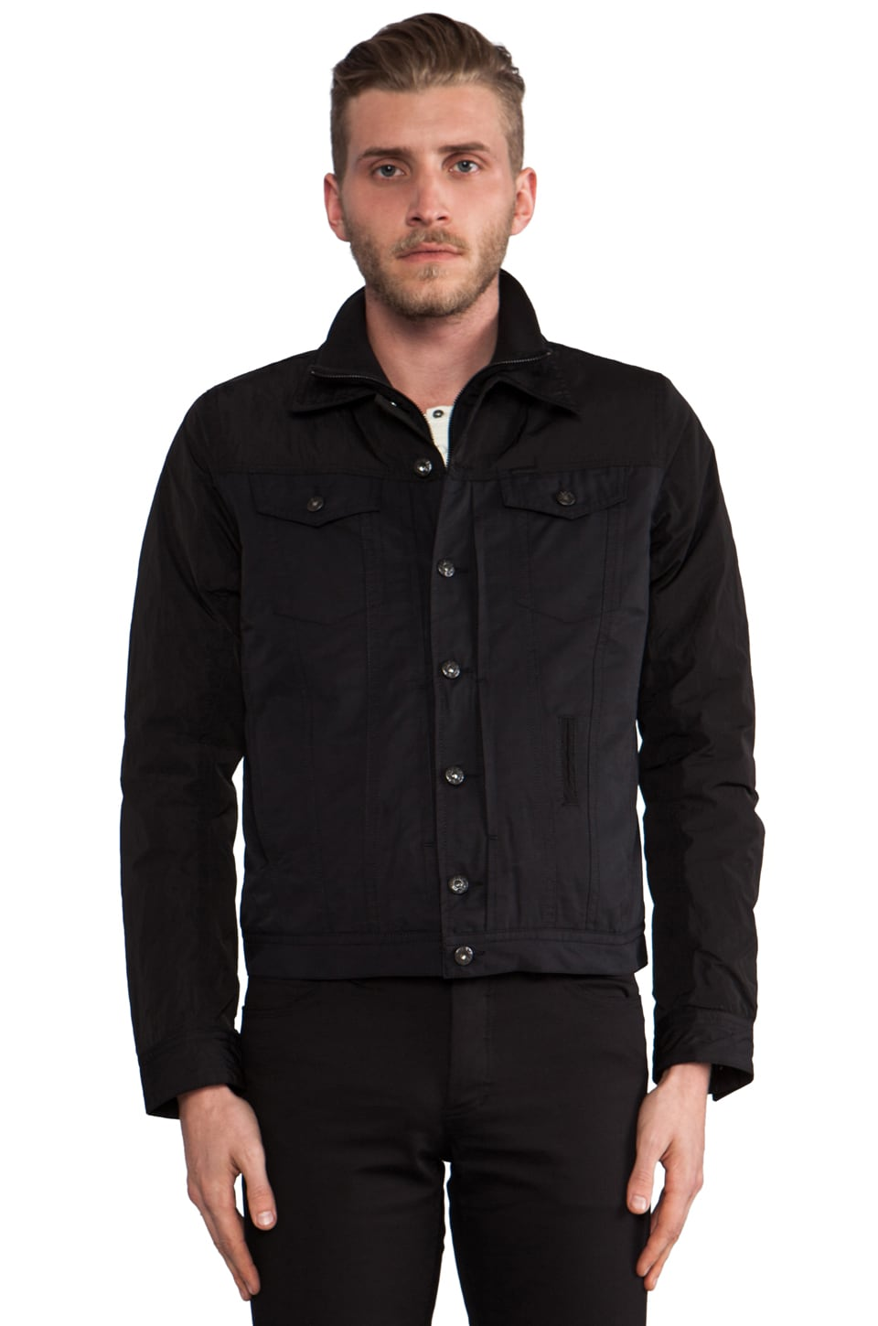 Diesel Zahir Jacket in Black