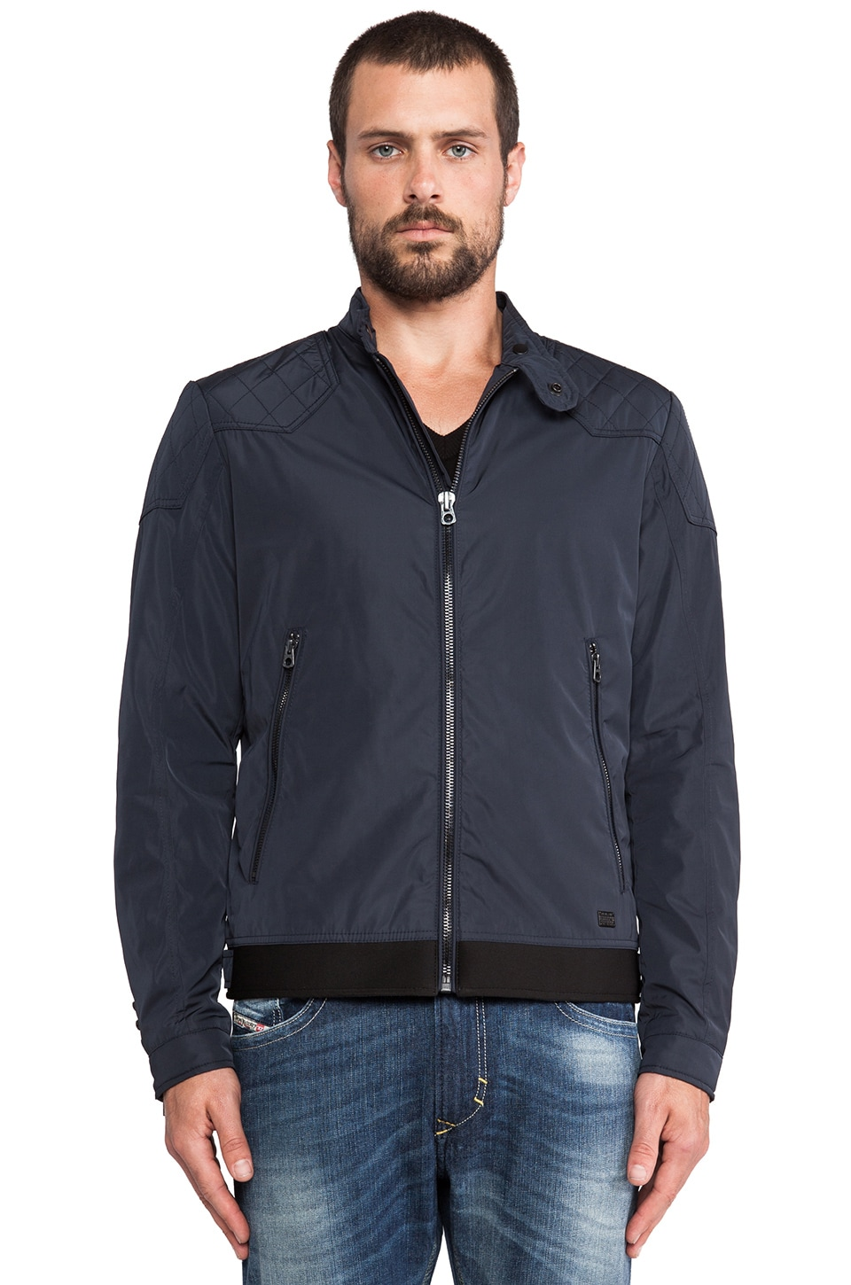 Diesel Hollis Jacket in Navy