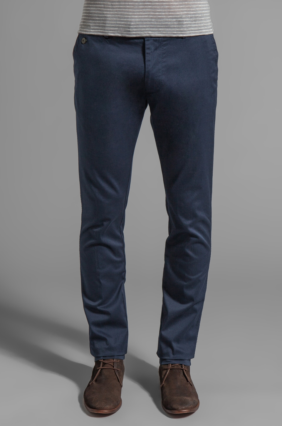 Diesel Chi-Tight Pants in Midnight Stripe